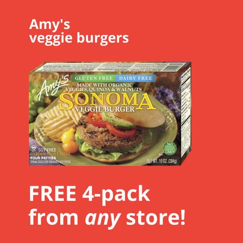 WP Amy's veggie burgers