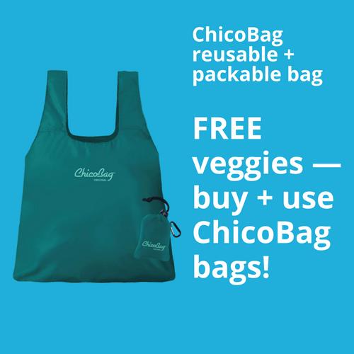WP ChicoBag free veggies